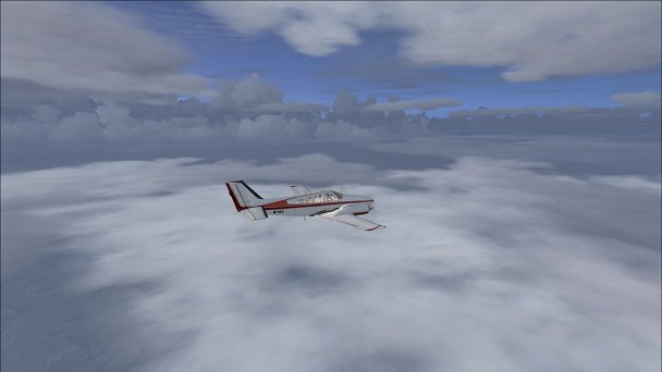 FSX+IF Screenshot: Overcast