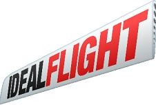 Ideal Flight Graphic: Logo